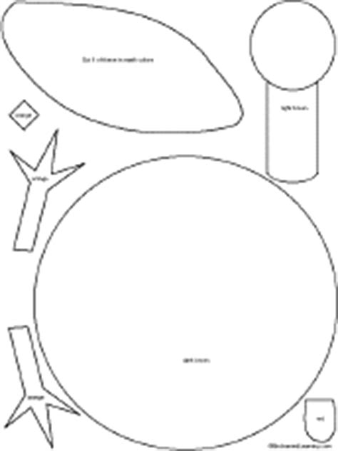 Turkey Legs And Feet Template To Cut by Thankfulturkey Incredibleartprojects