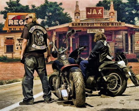 Sons Of Anarchy Motorcycles