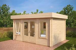 modern garden room jacob d 12m2 40mm 44 x 32 m With französischer balkon mit garten 40 qm