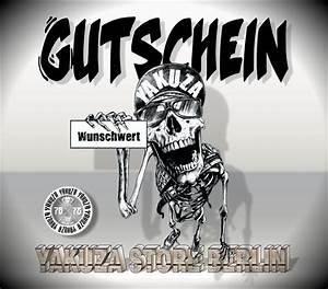 Gutschein T Online Shop : geschenk gutschein yakuza store berlin ~ A.2002-acura-tl-radio.info Haus und Dekorationen