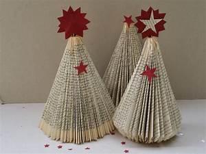 Weihnachtsbaum Aus Draht : diy weihnachtsbaum aus buch falten handmade kultur ~ Bigdaddyawards.com Haus und Dekorationen