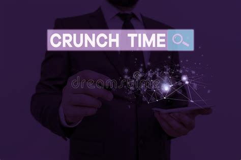 crunch  time stock image image   conceptual