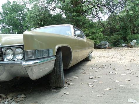 Sell Used Classic 1969 Cadillac Deville In Houston, Texas
