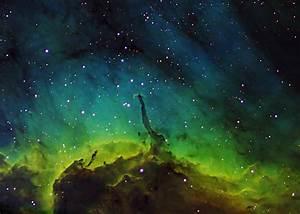 Green Nebula - Pics about space