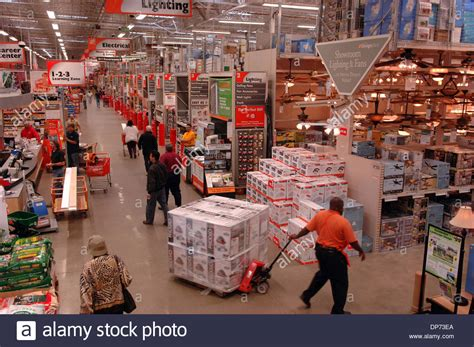 Home Depot Store Interior Stock Photos & Home Depot Store