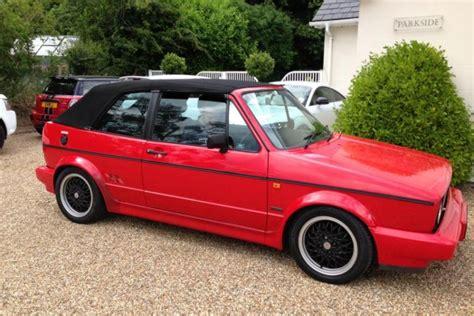 golf 1 cabrio sportline vw golf gti sportline cabriolet appreciating classics