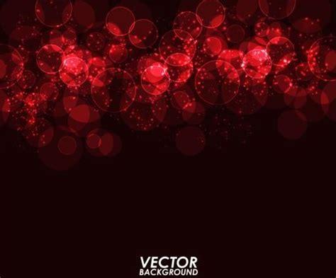 red light circle  dark background vector vector