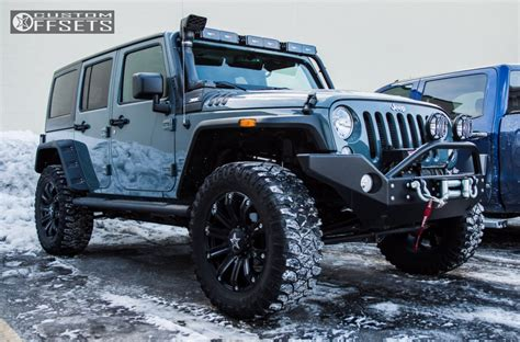 white jeep with teal accents 2014 jeep wrangler tis 534b generic suspension lift 3in