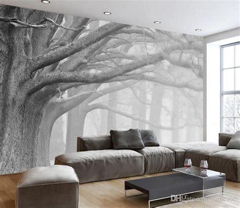 wallpaper living room bedroom murals modern black