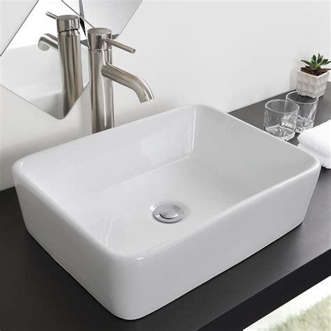 kitchen sink pop up bathroom porcelain ceramic vessel sink chrome pop up drain 8526