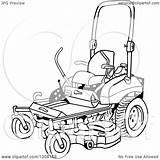 Lawn Mower Coloring Ride Pages Printable Clipart Cartoon Getcolorings Getdrawings sketch template
