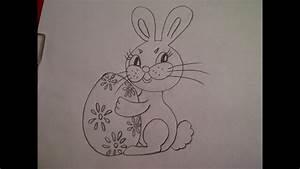 Zeichnungen Mit Bleistift Für Anfänger : zeichnen lernen f r anf nger hase kaninchen mit osterei malen youtube ~ Frokenaadalensverden.com Haus und Dekorationen