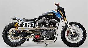 Moto Style Harley : custom dirt track style harley sportster at cyril huze post custom motorcycle news ~ Medecine-chirurgie-esthetiques.com Avis de Voitures