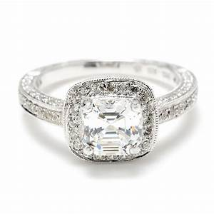 Square diamond wedding rings wedding and bridal inspiration for Square diamond wedding rings