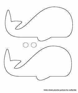 whale pattern photo card template from diy leslie With templates for sewing animals