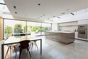 contemporary london residence for sale With centre kitchen design in london