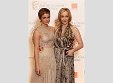 Emma Watson e JK Rowling alla cerimonia di premiazione
