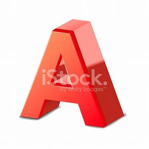 3d Red Letter A stock photos - FreeImages.com