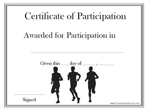 Run Certificate Template by Running Certificate Templates Free Customizable