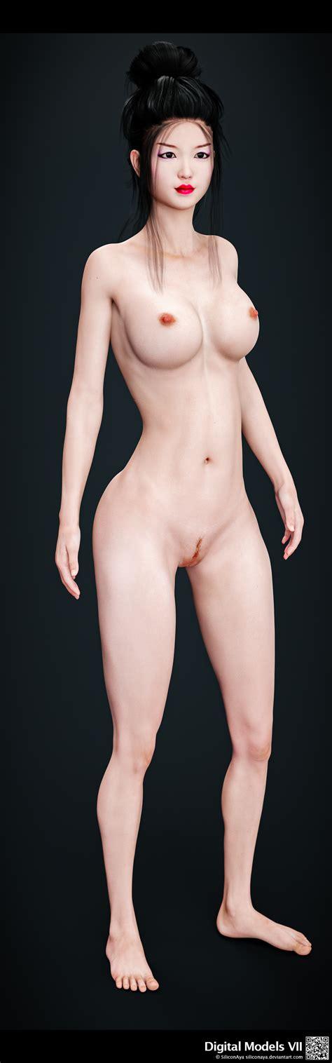 Rule 34 1girls 3d Artist Name Asian Bare Shoulders