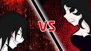 Special-Creepypasta | Jeff the Killer vs Jane the Killer ...