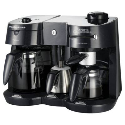 You could use about any kitchen steam wands are built into espresso machines and they are commonly used in coffee shops for good reason — they are the best at steaming milk and. Buy Morphy Richards 47010 Combi Coffee Maker with Frother from our Filter Coffee Machines range ...