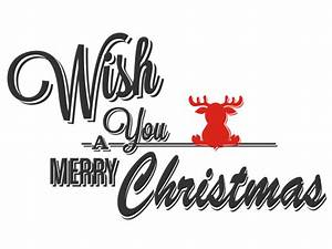 Merry Xmas Schriftzug : wandtattoo merry christmas mit elch ~ Buech-reservation.com Haus und Dekorationen