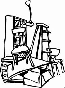 Kostenlos Möbel Abholen : viele moebel ausmalbild malvorlage comics ~ Watch28wear.com Haus und Dekorationen