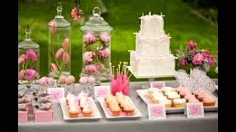 Decorating Ideas For Baby Shower Gift Table by Baby Shower Table Decorations