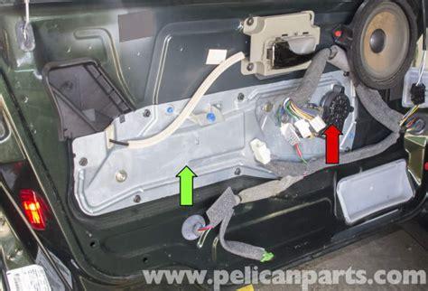 volvo  front window regulator replacement