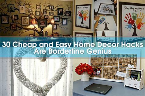 Home Decor Hacks : No-sweat Diy Home Decor Perfect For Beautifying Your Space