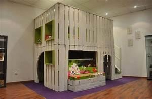 Dressing En Palette : 12 lits et meubles de chambre r alis s partir de ~ Melissatoandfro.com Idées de Décoration