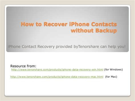 how to restore contacts on iphone how to recover iphone 5 4s 4 3gs contacts without backup