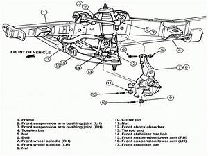 2002 Ford Ranger Front Suspension Diagram