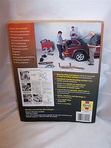 Haynes Nissan Maxima  1993 To 2004  Repair Manual