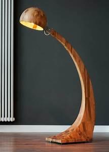 Lampen Aus Holz : ausgefallene lampen eine art kunst in ihren zuhause ~ Markanthonyermac.com Haus und Dekorationen