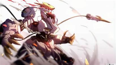 Lupus Barbatos Rex Gundam Sizes