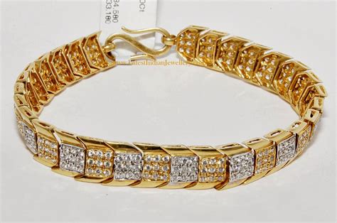 mens gold bracelet designs with prices