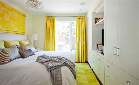 Yellow Bedroom Curtains by The Way To Brighten Up A Room With Yellow Curtains