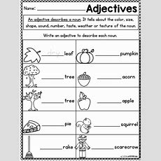 First Grade Math Worksheets And Literacy Worksheets  Fall Packet  Math, Fall And Literacy
