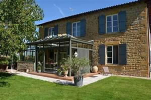 Prix D Une Veranda : prix d 39 une v randa moderne design beaujolais perspective ~ Dallasstarsshop.com Idées de Décoration