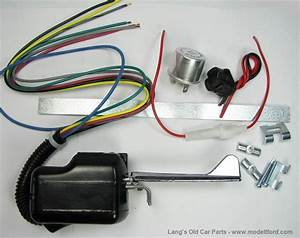 Model T Directional Turn Signal Kit  Without Lights  12