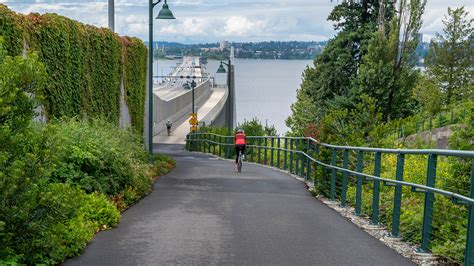 Each section of the ride. Photos: The best bike trails in Seattle   Seattle Refined