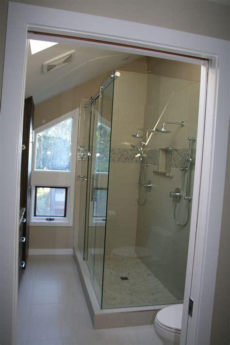 Hydroslide Shower Doors by Hydroslide Shower Door With Mitered Corner Shower Doors