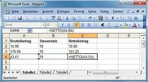 Mehrwertsteuer Berechnen Excel : neue funktionen f r excel und calc com professional ~ Themetempest.com Abrechnung