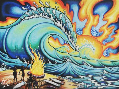 drew brophy artist surfcareers