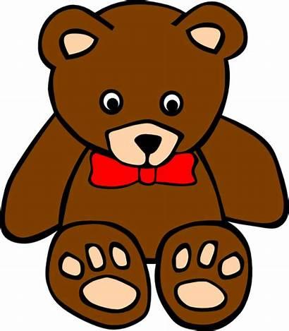 Bear Teddy Clip Cliparts Clipartix Related Vector
