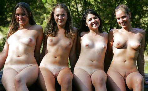 Four Nice Girls Group Of Nude Girls Luscious