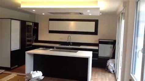 plafond de cuisine design cuisine et plafond
