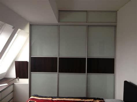 Schlafzimmerschrank Mit Kommode Im Dachgeschoss